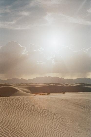 Illuminated White Sands